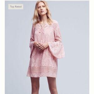 Floreat x Anthropologie | Esme Bell-Sleeve Dress 0